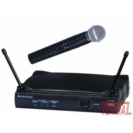 Brezžični mikrofon set, VHF-250, 214 MHz