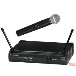 Brezžični mikrofon set, VHF-250,179 MHz