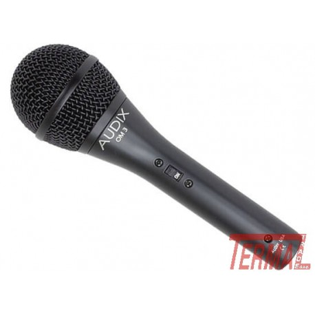 OM-3s, Dinamični vokalni mikrofon z stikalom, AUDIX