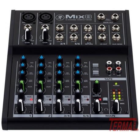 Mešalna miza, Mix8, Mackie