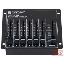 Kontrolni pult DMX, Cameo Control 6, Cameo