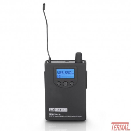 InEar Receiver, MEI 100 G2 BPR, LD Systems