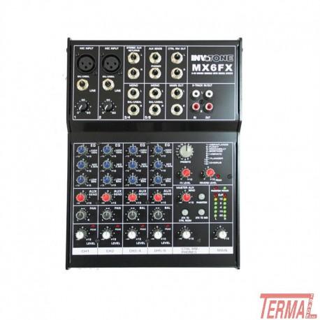 Mixer, MX6FX, Invotone