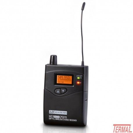 InEar Receiver, MEI 1000 G2 BPR, LD Systems