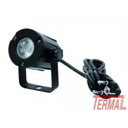 LED Pinspot, LED PST-3W, 6000K, 6°, Eurolite
