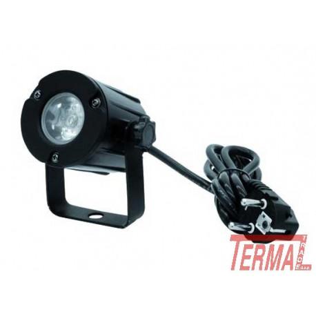 LED Pinspot, LED PST-3W, 6000K, 6°, Eurolite
