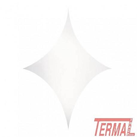 Stretch Shape Diamond, 500x250cm, Showtec
