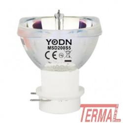YODN, MSD 200, S5, Reflektorska žarnica