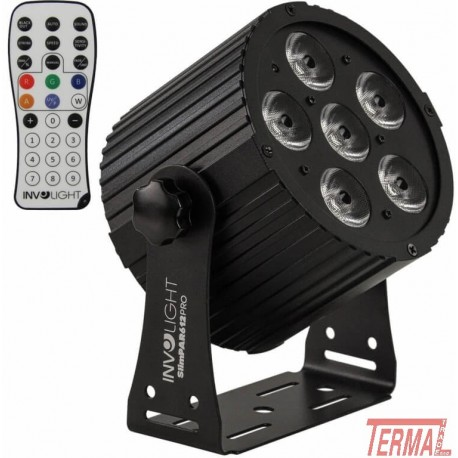 LED PAR, SLIMPAR612 PRO, Involight