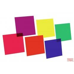 Set barvnih folij, 6 barv, Eurolite