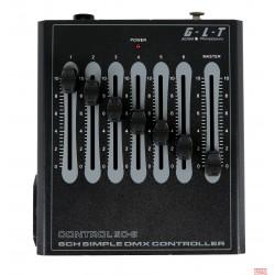 Kontrolni pult DMX, G.L.T. Control SC-6, G.L.T.