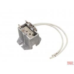 Podnožje žarnice za grlo, GX9.5/GY9.5