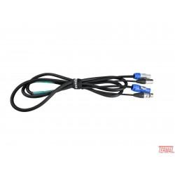 Eurolite, Kombiniran kabel, P-Con/3 pin xlr, 3m,