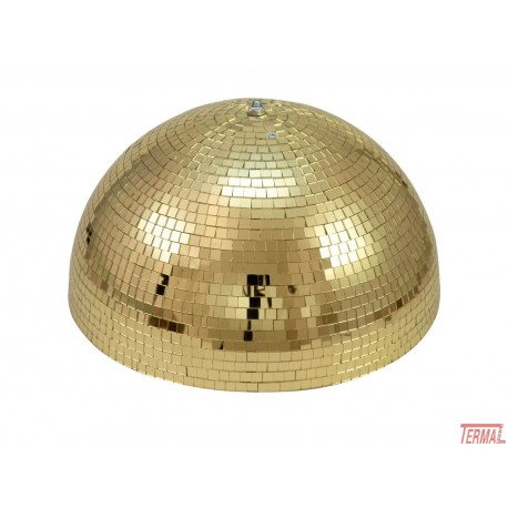 Eurolite, Polovična krogla 50cm, z motorjem, zlata