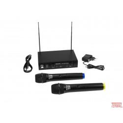 Omnitronic, VHF-101 Brezžični mikrofonski set, 209.80MHz