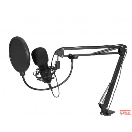 Omnitronic, BMS-1C Usb mikrofonski komplet
