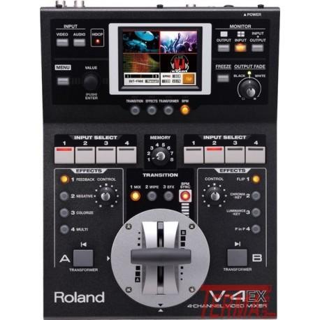 Video mixer, V-4EX, Roland