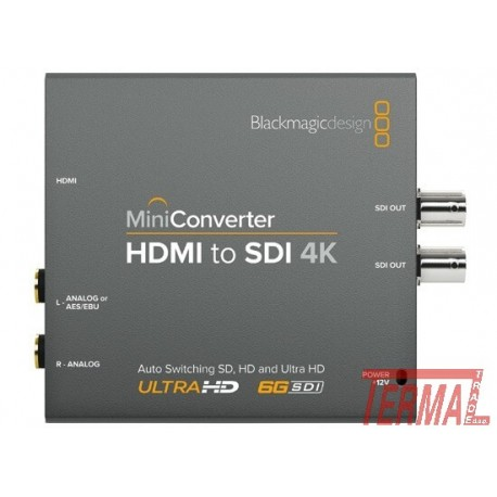 Mini Konverter HDMI / SDI 4K, Blackmagic Design