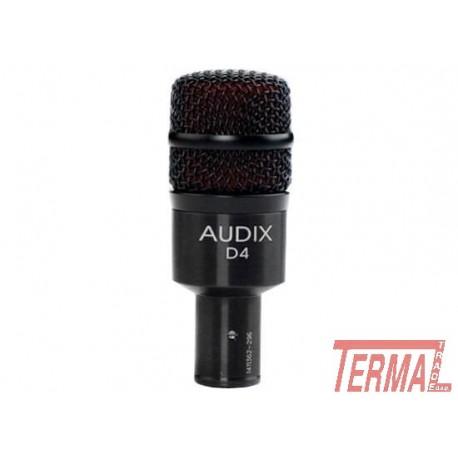 D4, Dinamični instrumentalni mikrofon, AUDIX