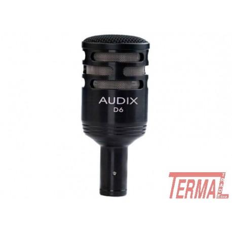 D6, Dinamični instrumentalni mikrofon, AUDIX