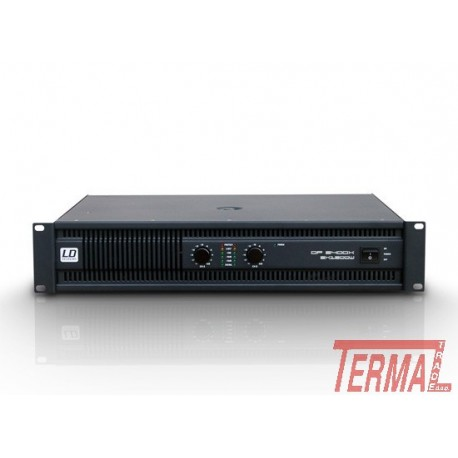 LD Systems, Deep² LDDP2400X, Ojačevalec
