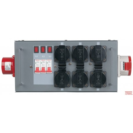 Električni Razdelilec, Split Power 16, Showtec