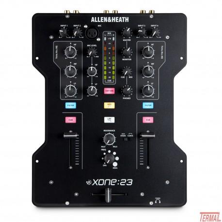 DJ Mixer, XONE 23, Allen & Heath