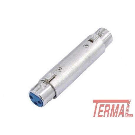 Adapter, XLR na XLR Moški, Omnitronic