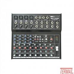 Mixer, MX12USB, Invotone