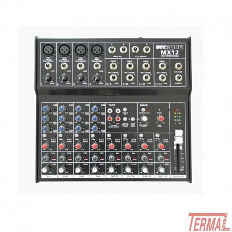 Mixer, MX12, Invotone