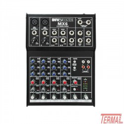Mixer, MX6, Invotone