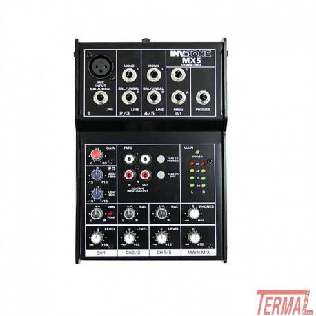 Mixer, MX5, Invotone