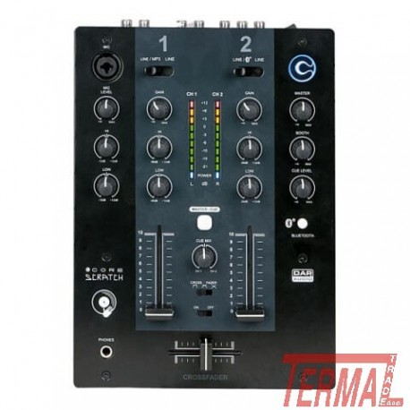 DJ Mixer, CORE Scratch, DAP Audio