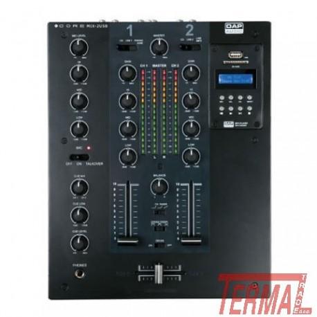 DJ Mixer, CORE MIX 2 USB, DAP Audio