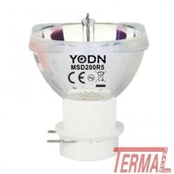YODN, MSD 200, R5, Reflektorska žarnica