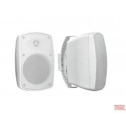 Pasivni zvočnik, OD-4T, beli, IP65, 100V, Omnitronic